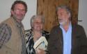 Gianpaolo Gasparetto,  Laura Gavioli e Roberto Pazzi