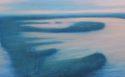 Nel delta (2015), olio su tela cm50x100