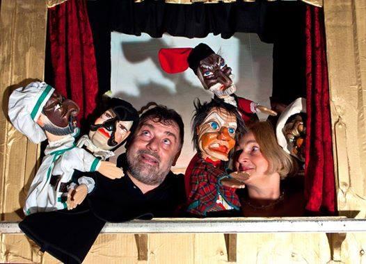 Teatrino dell'ES con Rita Pasqualini e Vittorio Zanella, foto di Flavia Franceschini