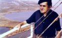Giuseppe-Marchiori-sul-faro-di-Pila-Porto-Tolle-1975